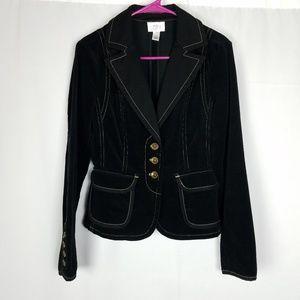 Ann Taylor Loft black blazer size 4